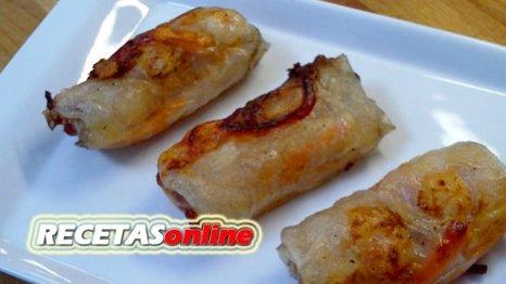 Rollitos vietnamitas - Recetas de cocina RECETASonline