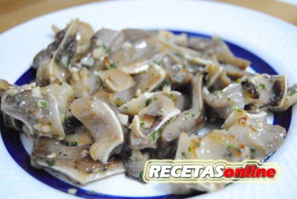 Oreja de cerdo a la plancha - Recetas de cocina RECETASonline
