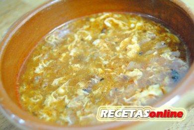 Sopa de ajo - Recetas de cocina RECETASonline