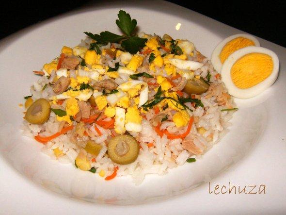 Ensalada de arroz muy sencilla - Recetas de cocina RECETASonline