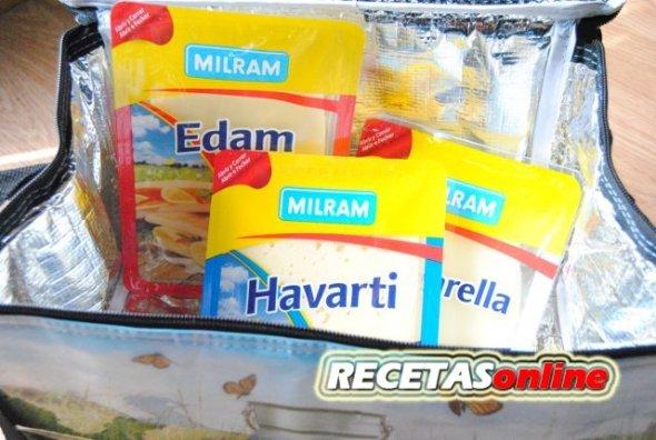 Variedades de quesos en lonchas MILRAM - Recetas de cocina RECETASonline