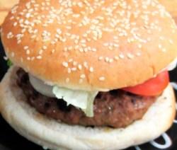 Hamburguesa casera estilo whopper