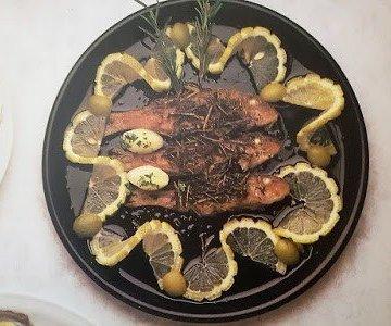 Salmonetes especiados caseros y saludables