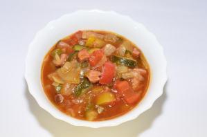 Sopa de Verduras Italiana Rápida