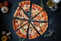 receta pizza vegetariana
