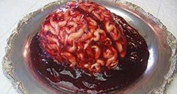 Halloween  Cerebro Sangriento  Recetas de Cocina  Ricas