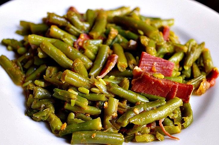 Judias verdes con jamon Thermomix  Receta con tomate