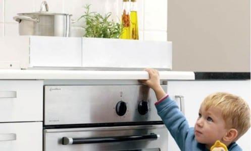 Los nios en la cocina declogo de seguridad  Recetn
