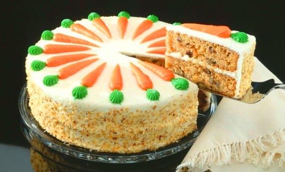Tarta de zanahorias sabor y textura especiales  Recetn