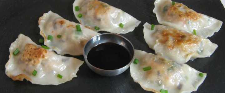 Raviolis chinois à la crevette