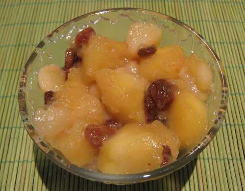 compote pomme poire