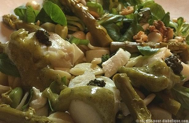 salade-pates-cabillaud