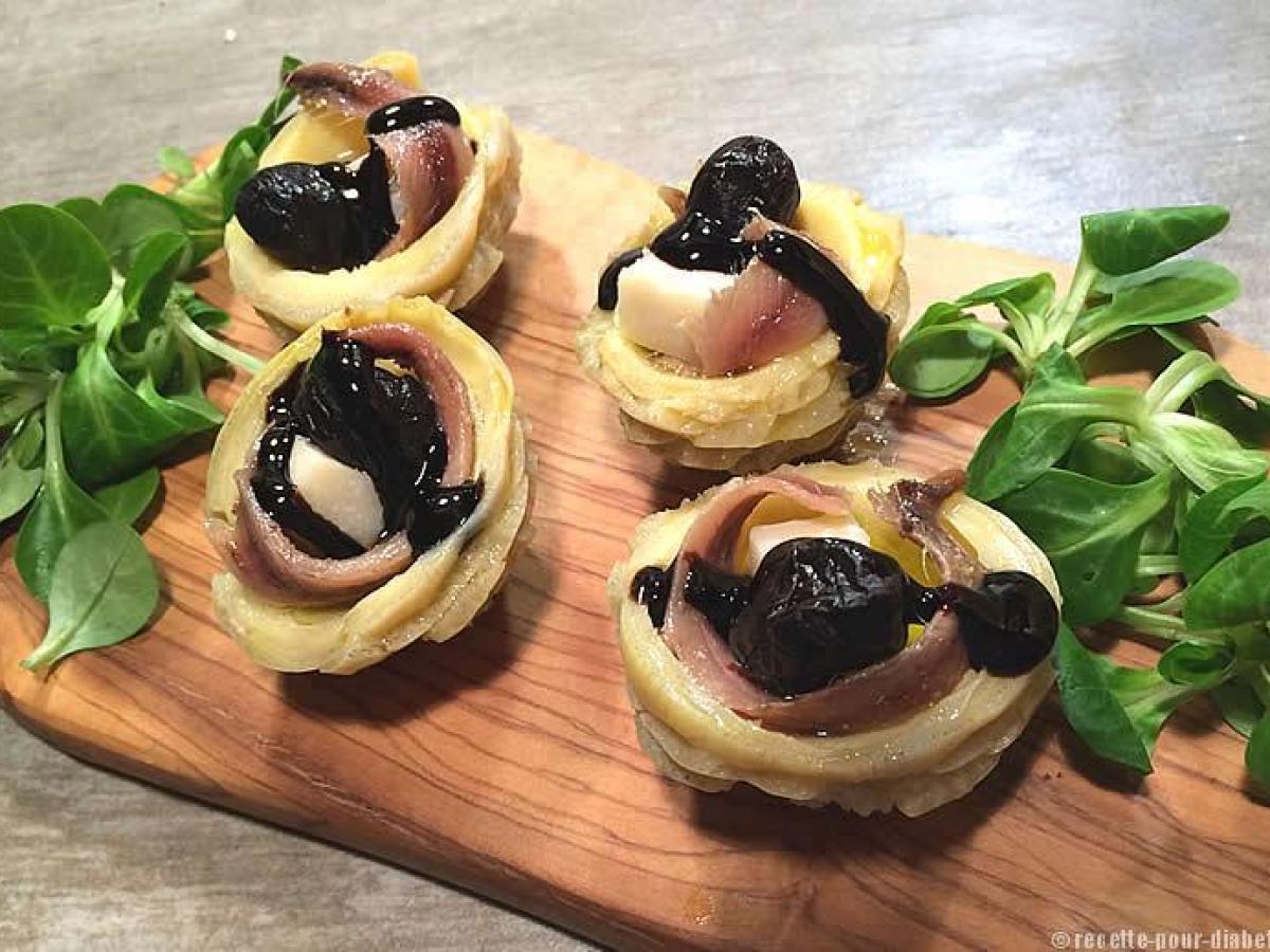Fond d'Artichaut, Anchois et Parmesan