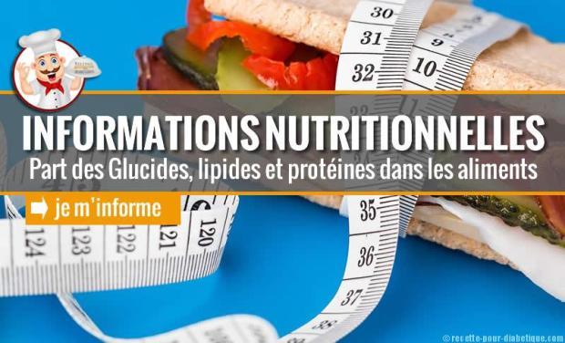 info-nutritionnelles
