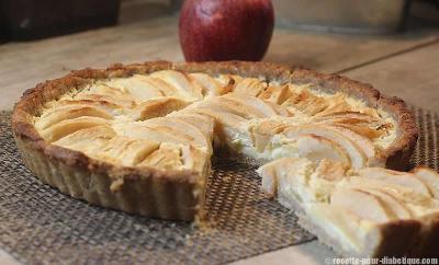 tarte-pommes-sablee