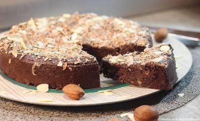 gateau-fondant-chocolat-banane