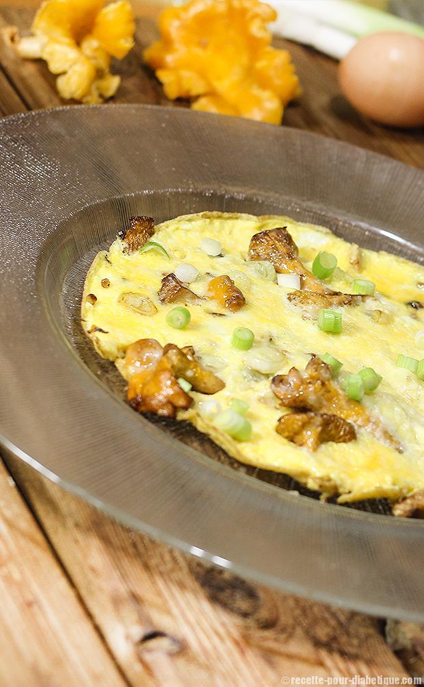omelette-girolles