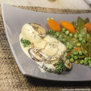 poulet-sauce-shiitake