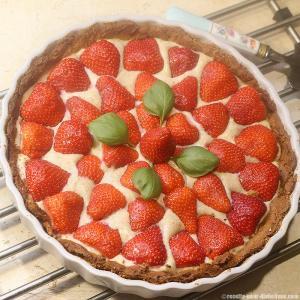 tarte-fraise-basilic