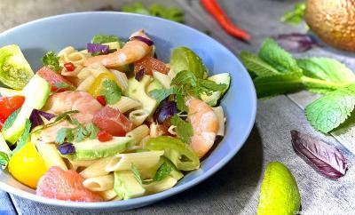 salade-pates-crevettes