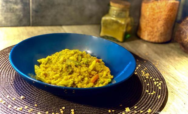 risotto-lentilles-curry
