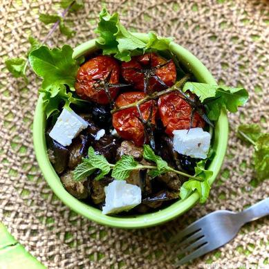 salade-aubergine-grillee