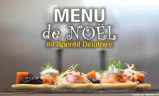 menu noel aperitif