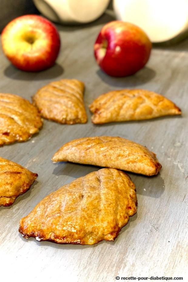 chausson aux pommes sans sucre