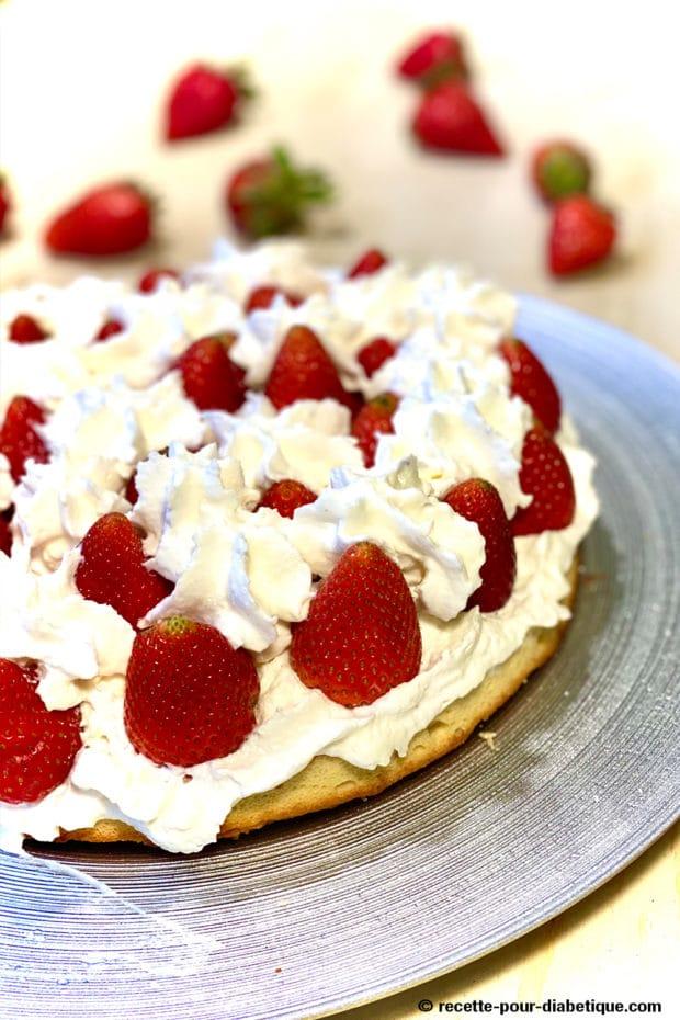 fraisier chantilly