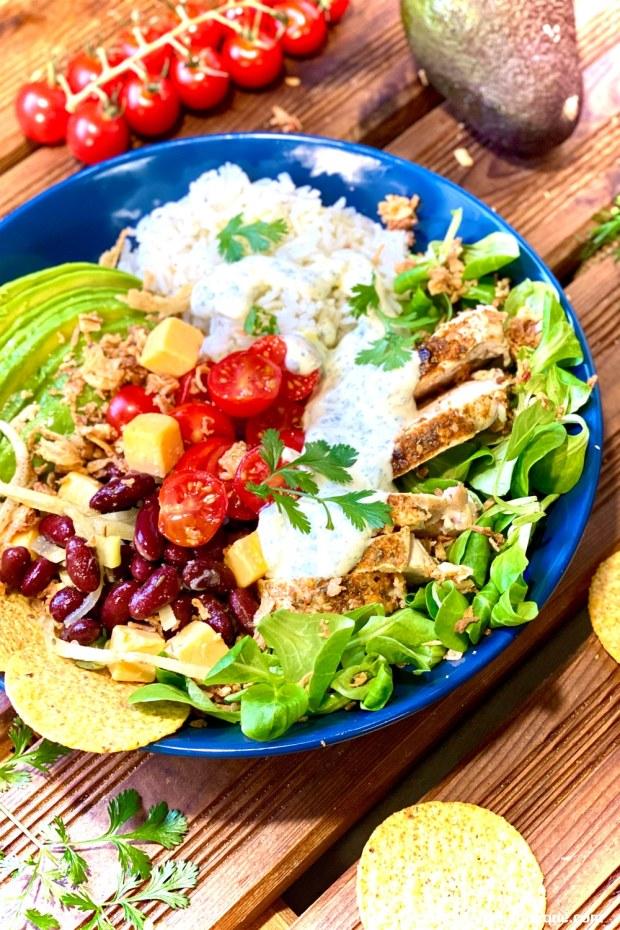 salade tex mex au riz