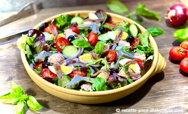 salade à la niçoise