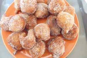 Beignets moelleux au fromage blanc avec thermomix