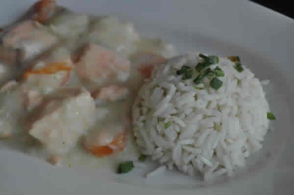 Recette Blanquette de saumon WW au cookeo