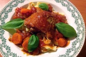 Recette Hauts de cuisses et carottes cookeo