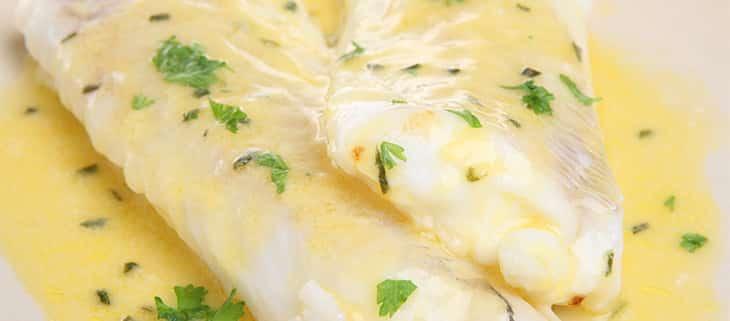 Filet de colin vapeur et sa sauce au citron au thermomix