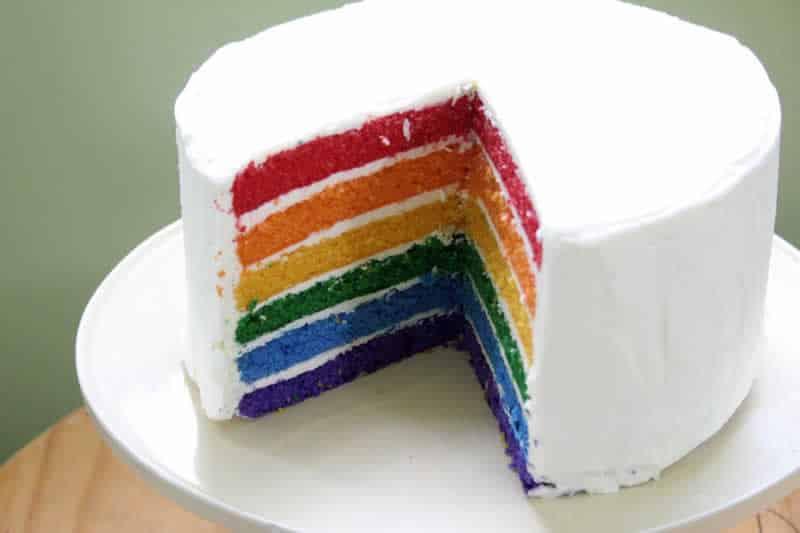 Rainbow Cake au thermomix