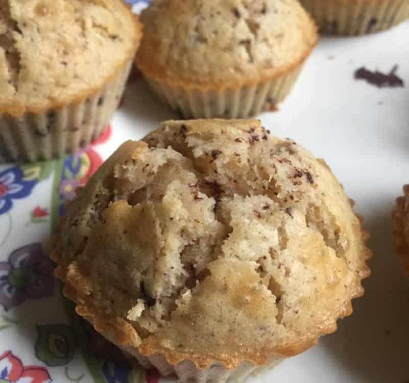 Muffin pépite de chocolat au Thermomix