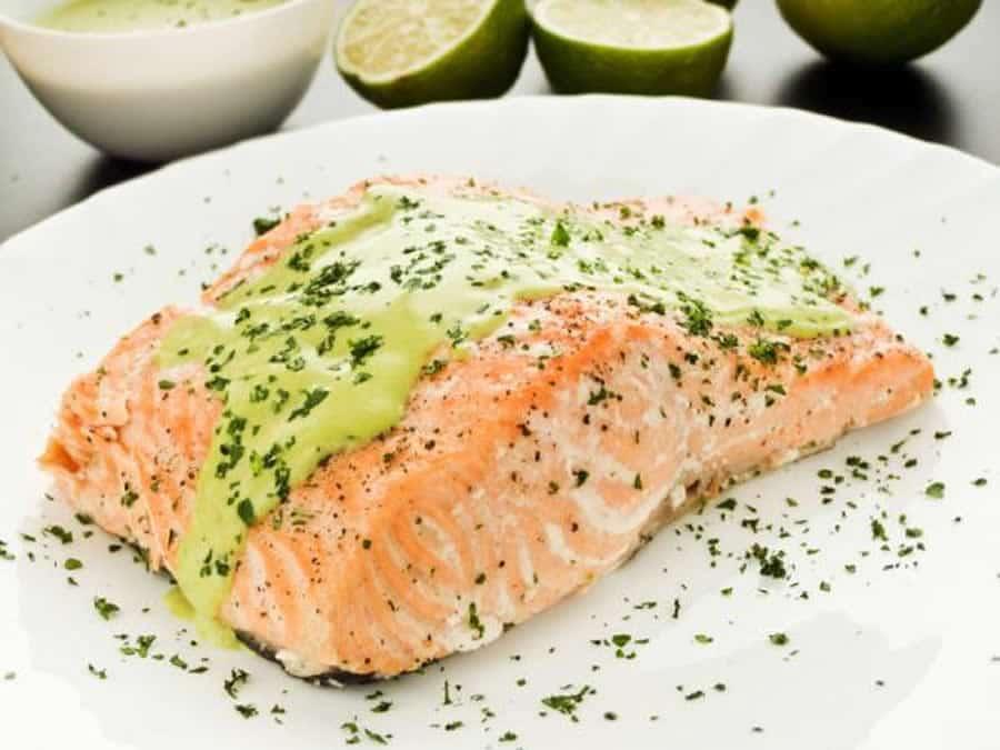 saumon a la creme d ail au thermomix