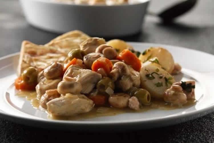 poulet pomme de terre champignons au cookeo