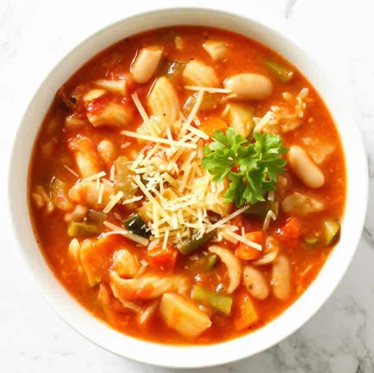 soupe minestrone au thermomix