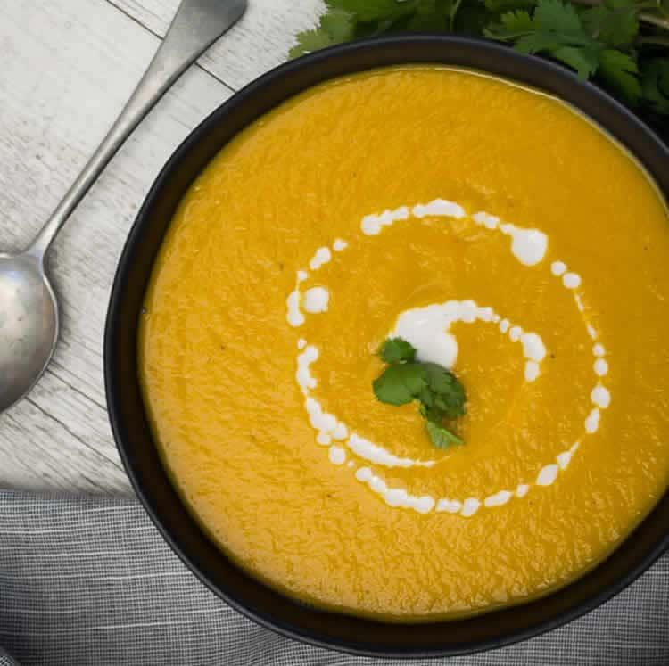 soupe de courge et legumes au cookeo
