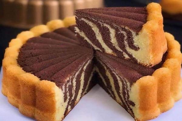 Cake Marbre Au Chocolat Tres Facile