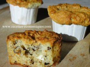 muffins roquefort noix1