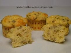 muffins olives vertes sans gluten