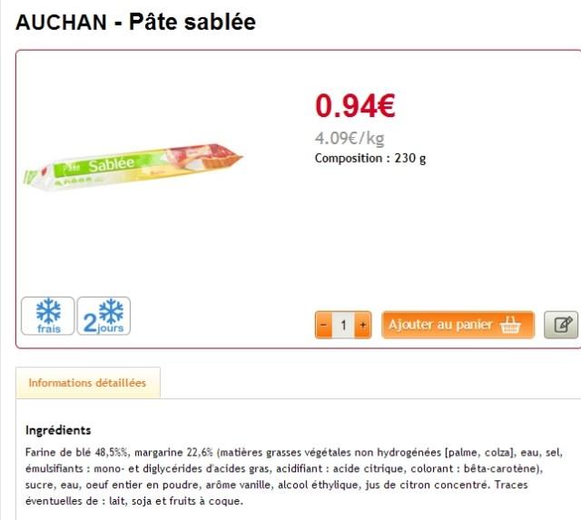 auchan 4€09