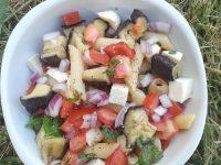 salade aubergine tomate poivron (3)