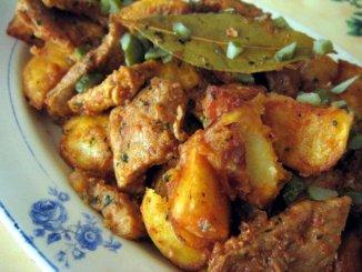 Viande de porc à la portugaise