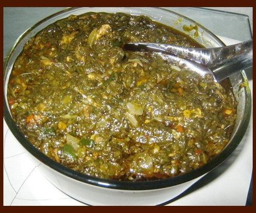 Sauce Feuilles de Patate  Recettes Africaines