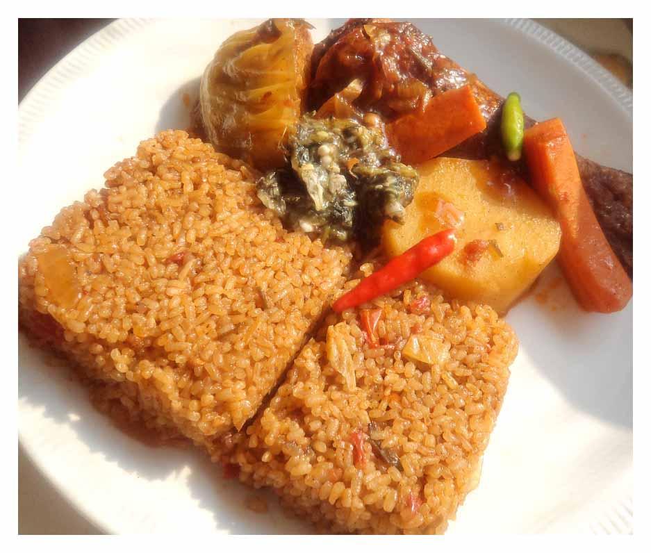 Thieboudienne ou Riz au gras  Recettes Africaines