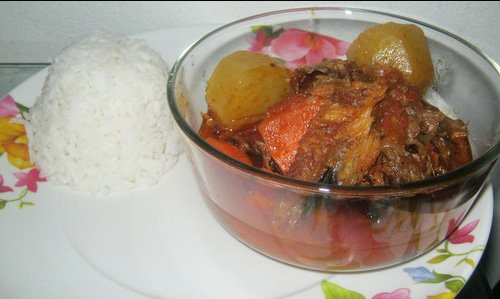Soupe de Poisson Fum KonKoye  Recettes Africaines